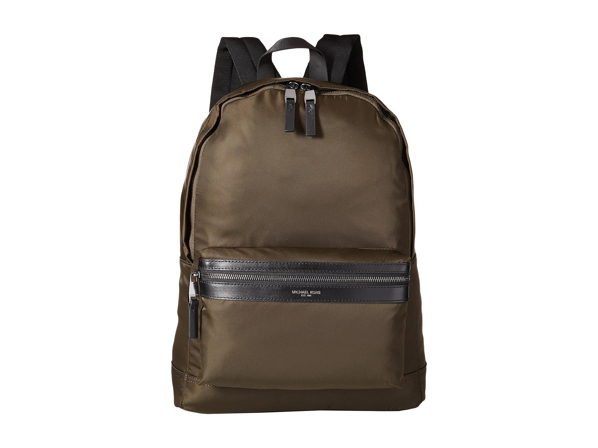 cd4603a4a8 Lyst - Michael Kors Kent Lightweight Nylon Backpack in Green for Men