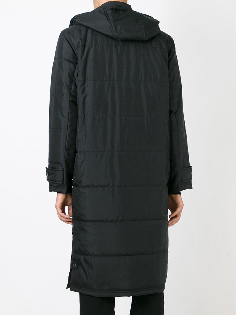 Ganryu comme des garçons Padded Duffle Coat in Black for Men | Lyst