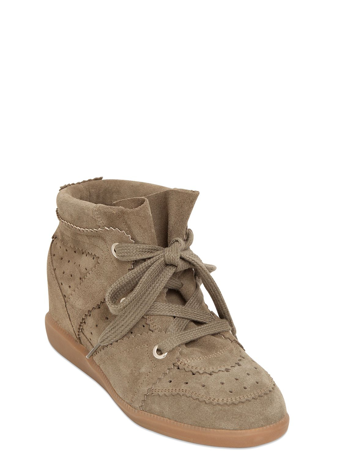7caad547171 Gallery. Previously sold at  LUISA VIA ROMA · Women s Wedge Sneakers  Women s Isabel Marant Bobby ...