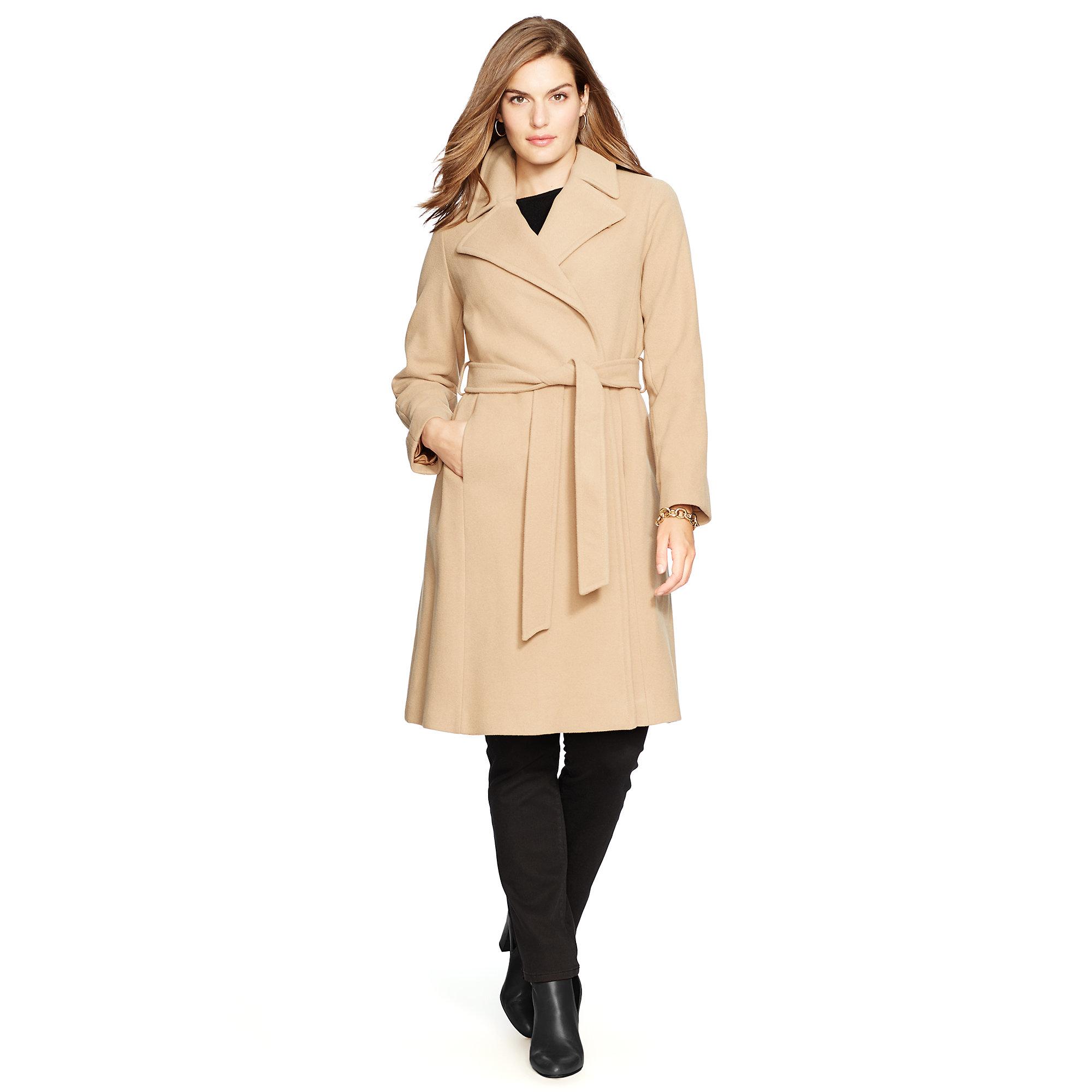 Ralph lauren wool overcoat