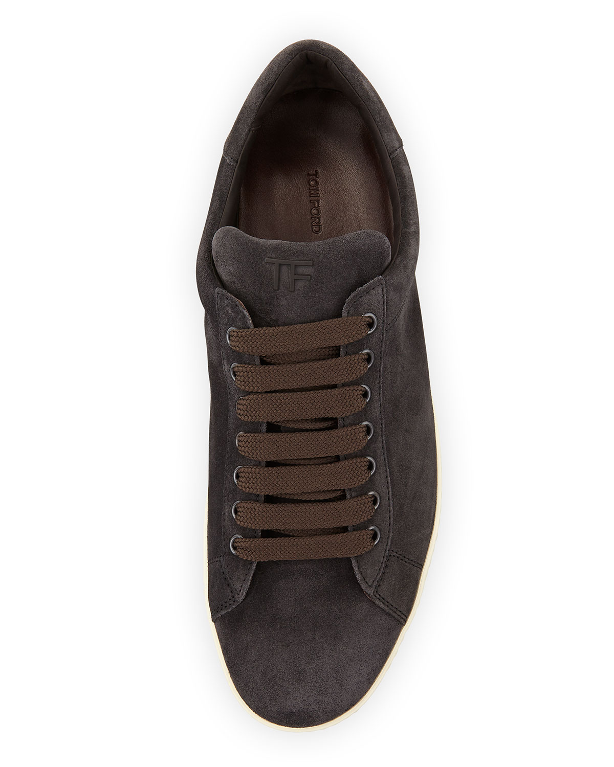 Sneaker suede grey Tom Ford Discount Sale Online Fake Cheap Online Discount Websites New Arrival Online Cheap Sale Fast Delivery PN5BFW45U