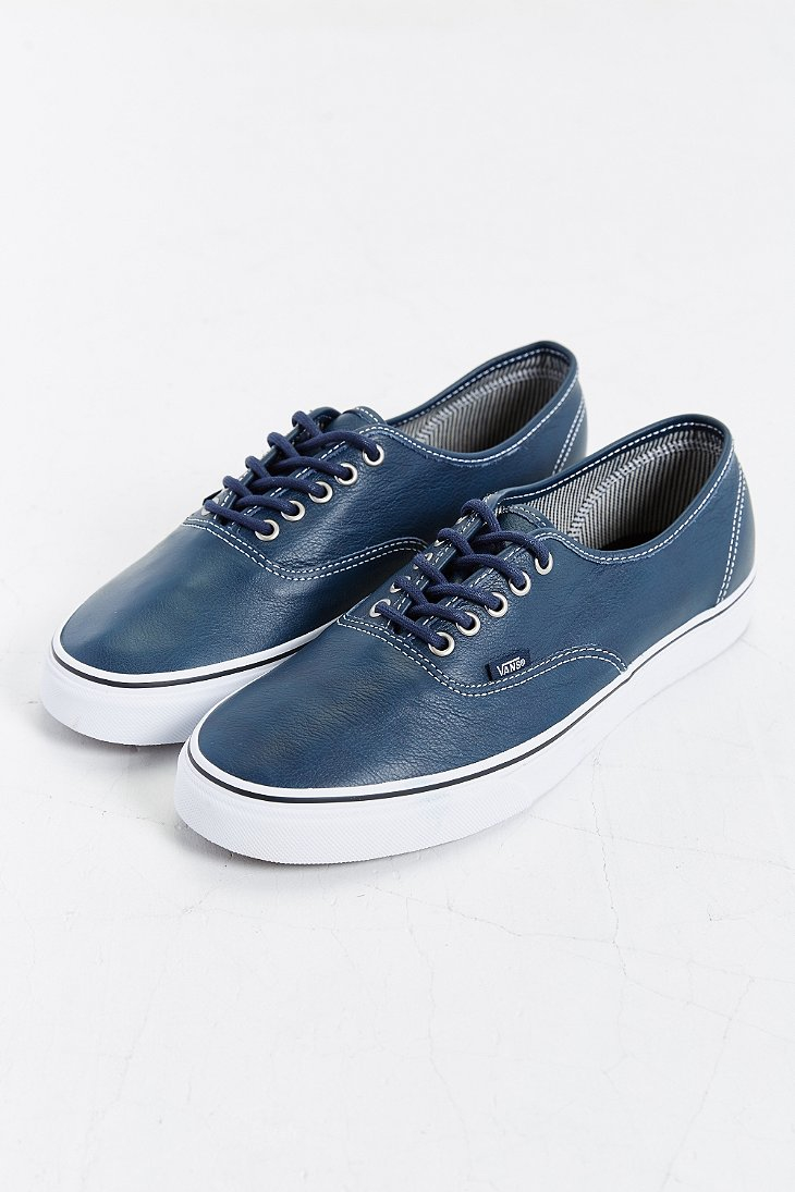 vans authentic leather