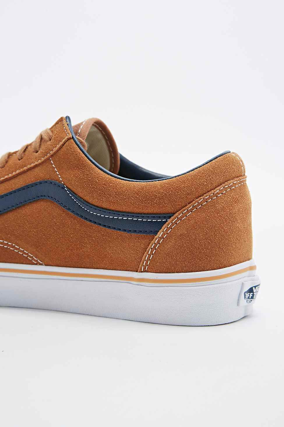 7a2b7e9b97 For Suede In Vans Skool Trainers Sugar Old Lyst Brown Men PkZOXiu