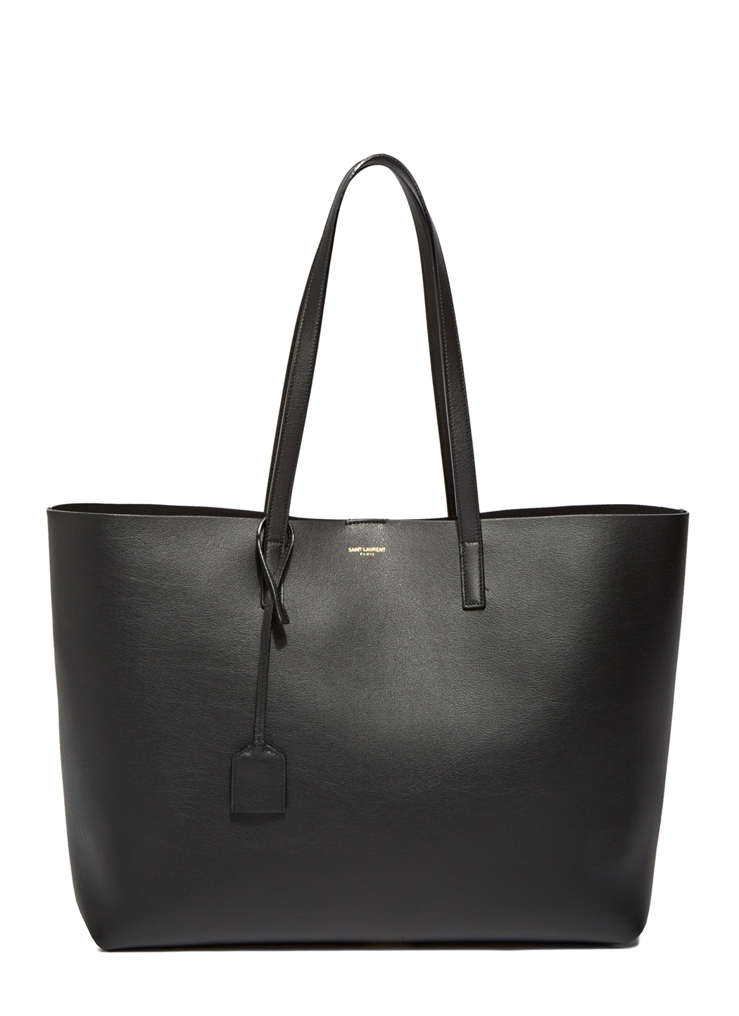 Saint laurent Large Shopper Tote Bag in Black | Lyst
