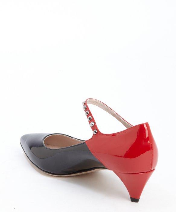 Miu Miu Pompes Cloutés - Rouge 2dbVHm3oP