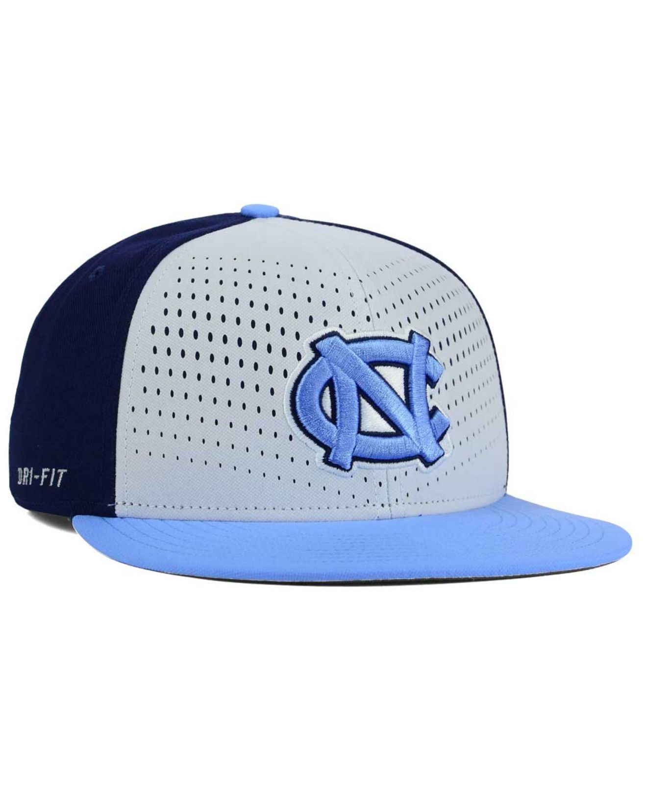 wholesale dealer eec1c c58c2 ... order lyst nike north carolina tar heels true seasonal snapback cap in  1da01 13b45