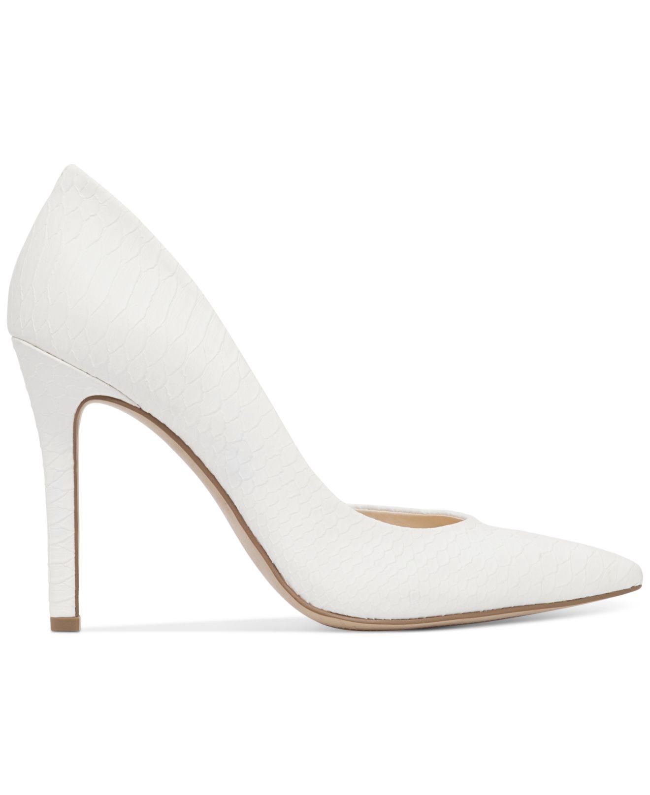 d0f0ca7fbb5 Lyst - Jessica Simpson Claudette D orsay Pumps in White