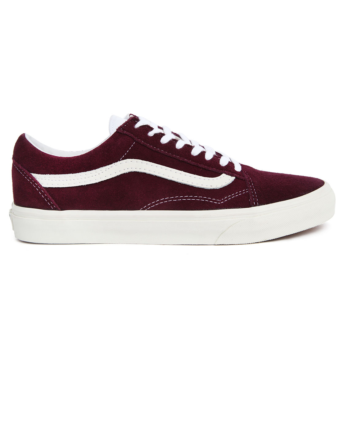 bordeaux red vans