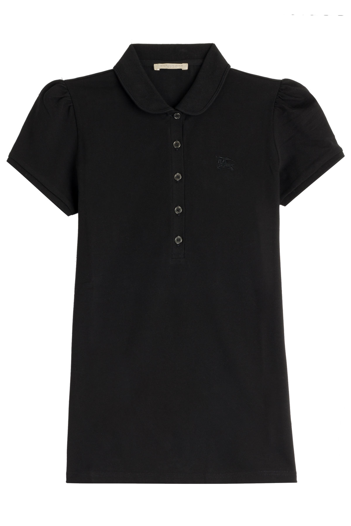 Burberry Brit Cotton Polo Shirt In Black Lyst