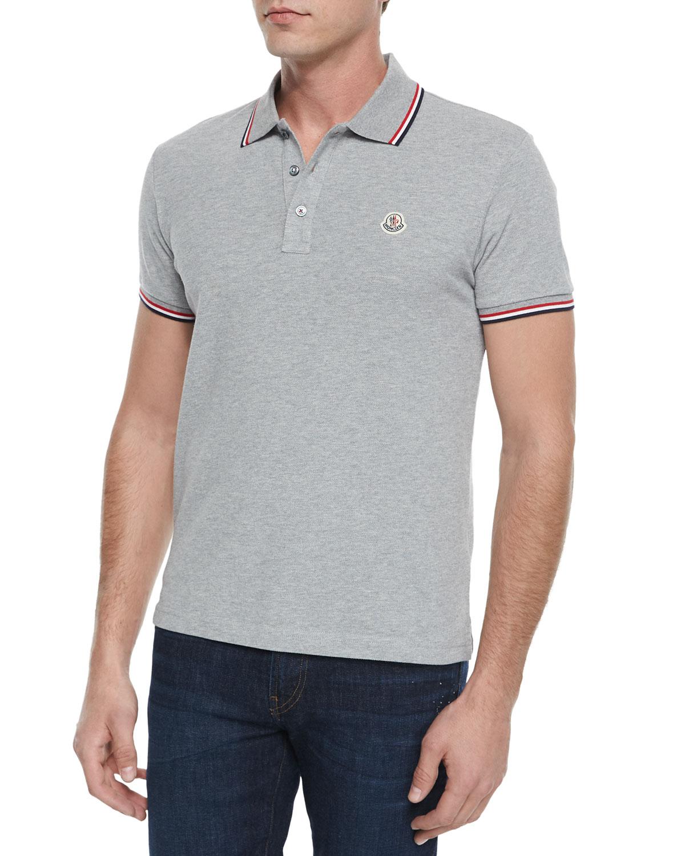 Moncler Polo Grey