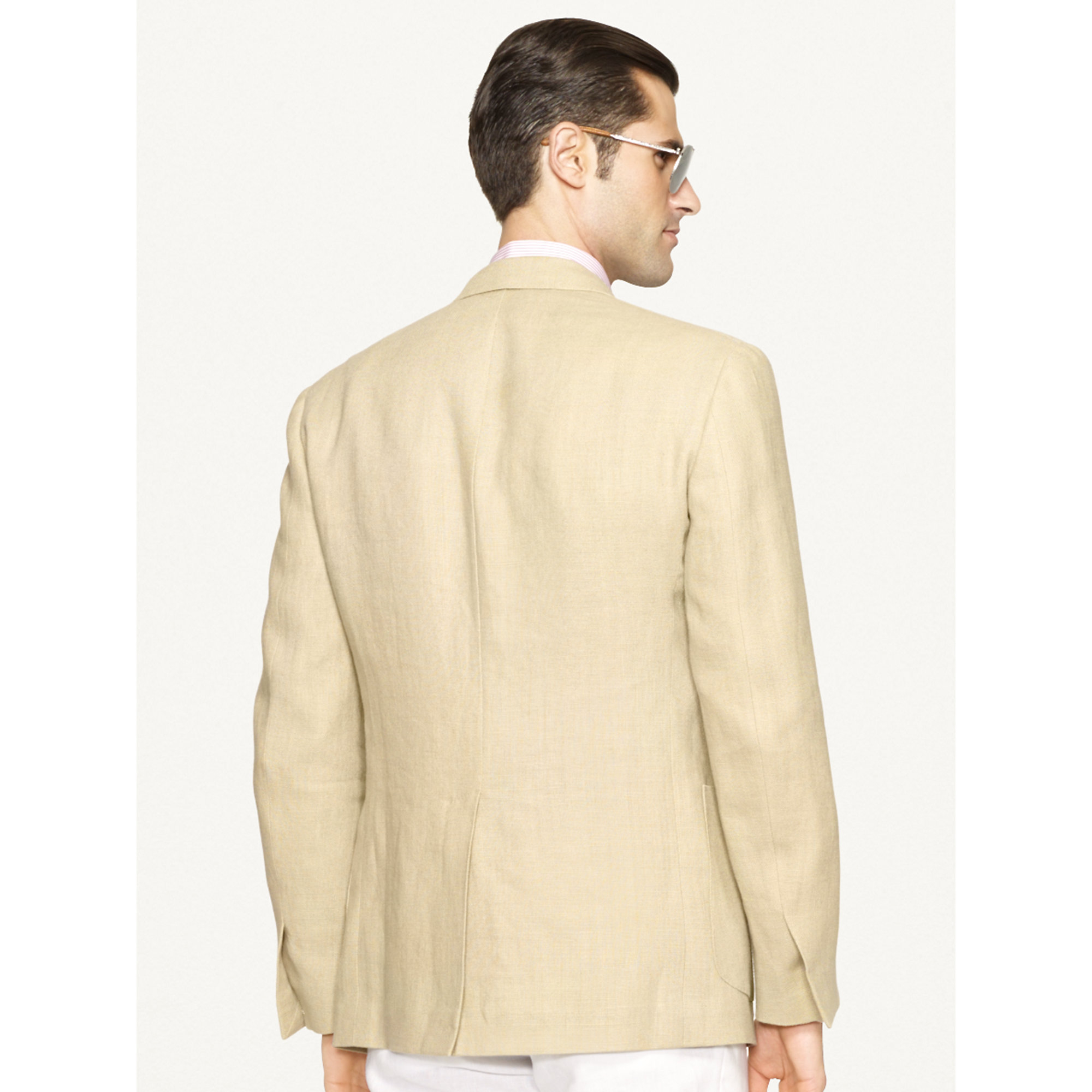 b3db67e515ac Ralph Lauren Black Label Linen Sport Coat in Natural for Men - Lyst