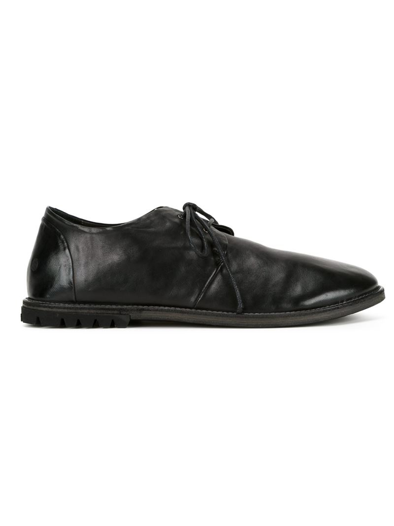 Marsèll Up In Shoes Men For Black Lace Lyst Distressed vdAxn6tqq