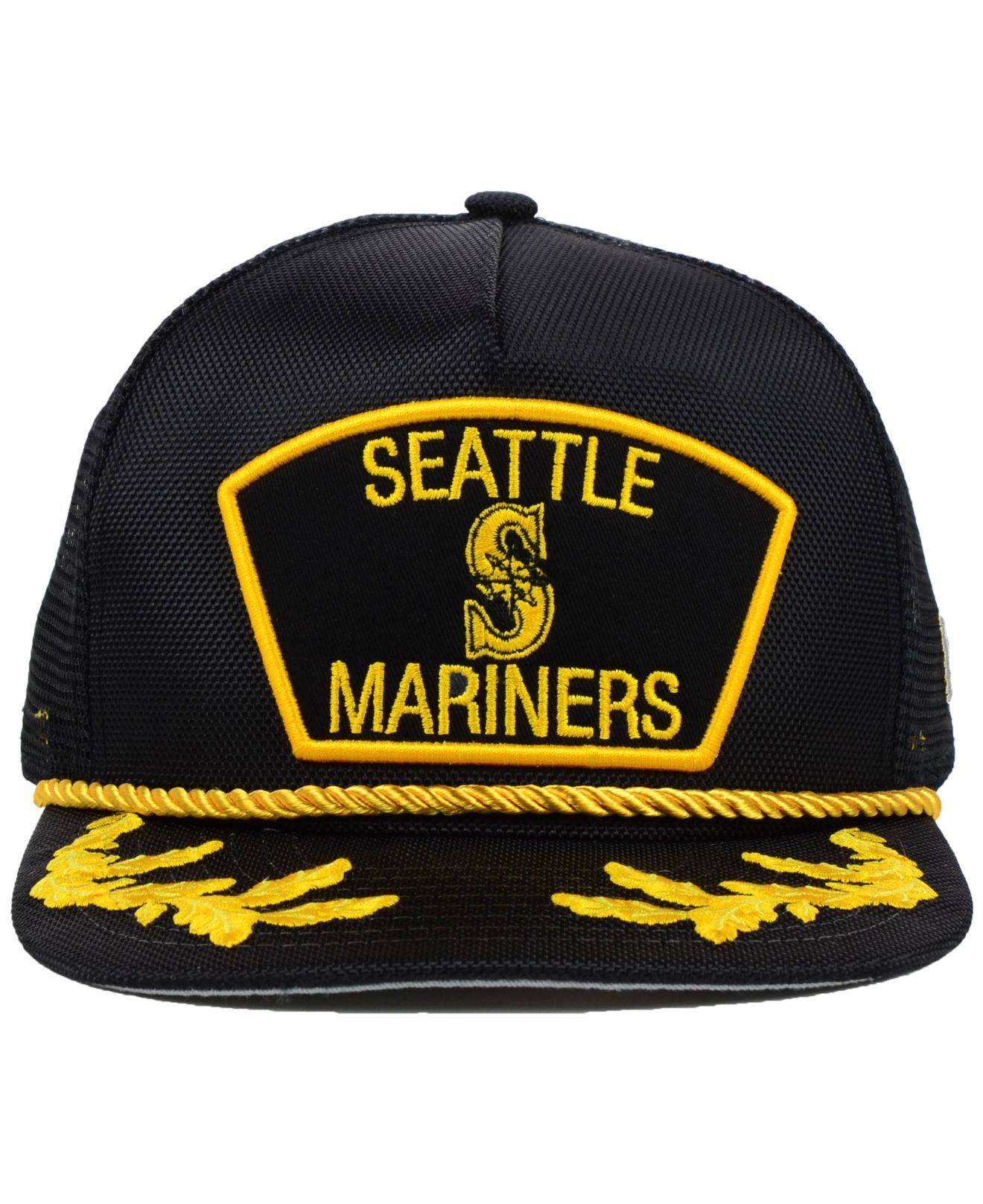 official photos 3607a 73f1a get lyst ktz seattle mariners mlb 9fifty snapback cap in black for men  bdead 8bbf9