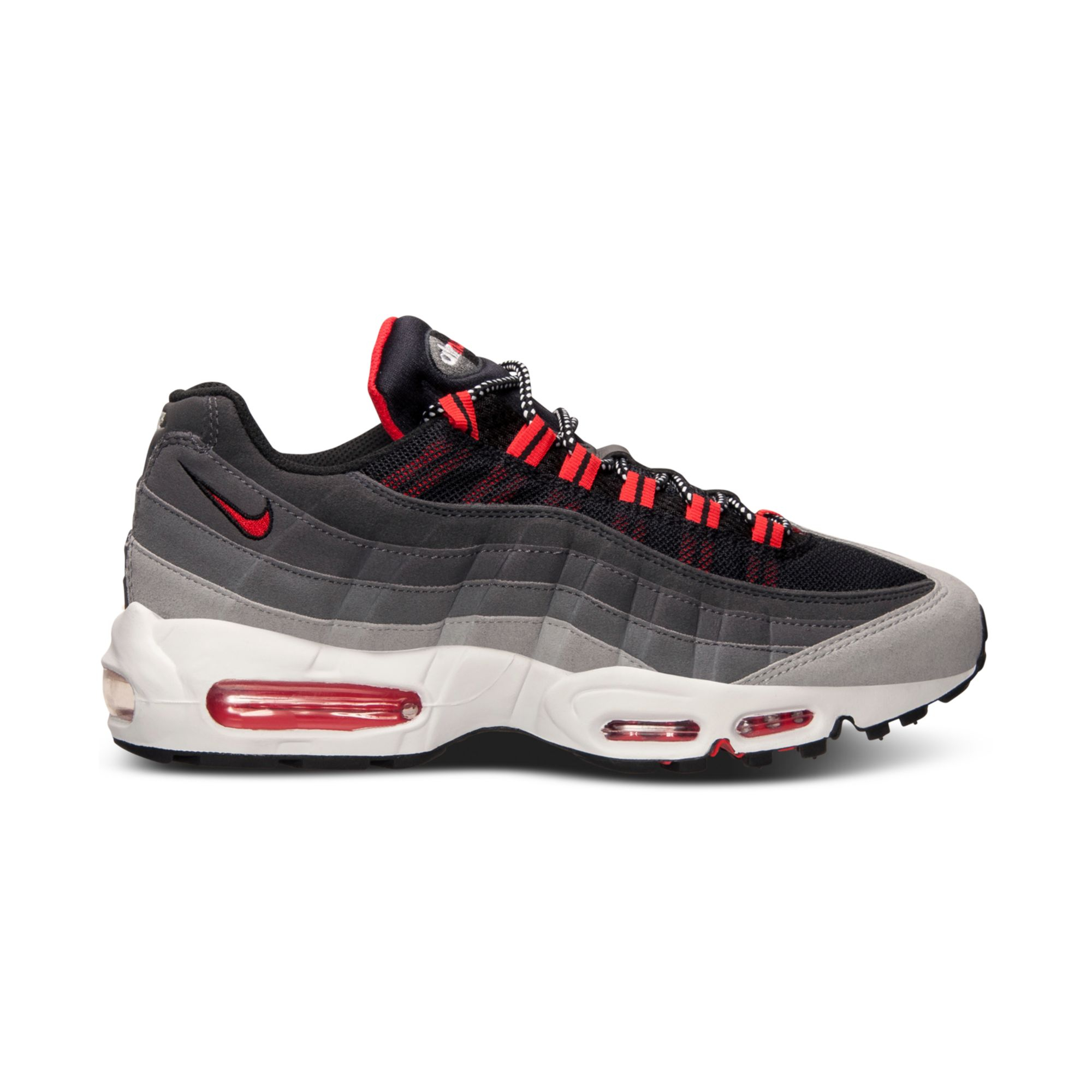 nike mens air max 95 running sneakers from finish line in. Black Bedroom Furniture Sets. Home Design Ideas