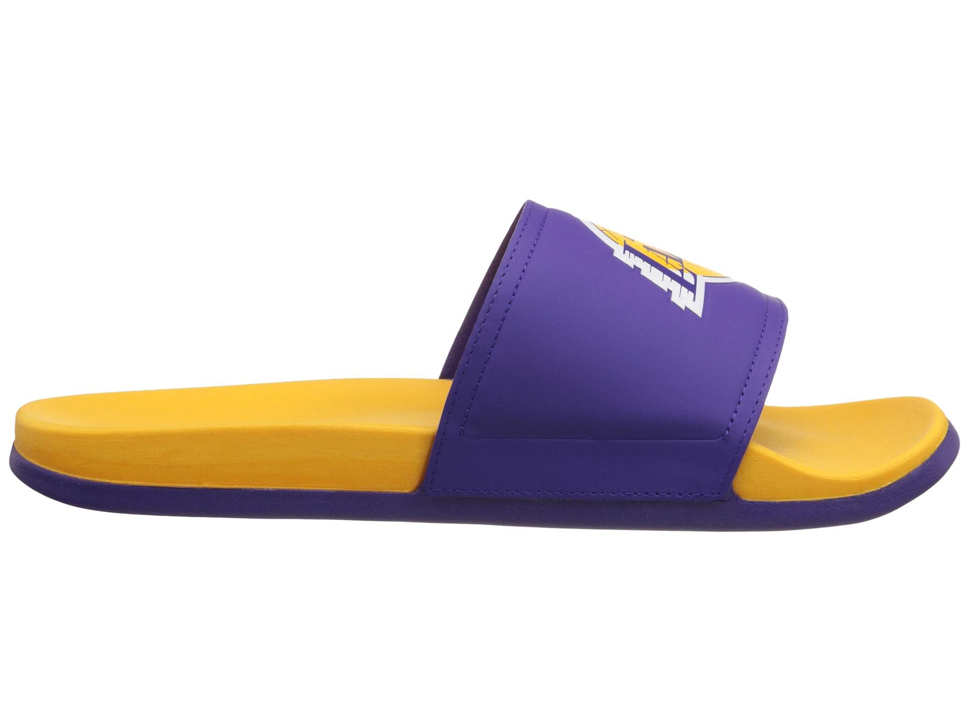 89c7dd8e638 Lyst - adidas Adilette - La Lakers in Purple for Men