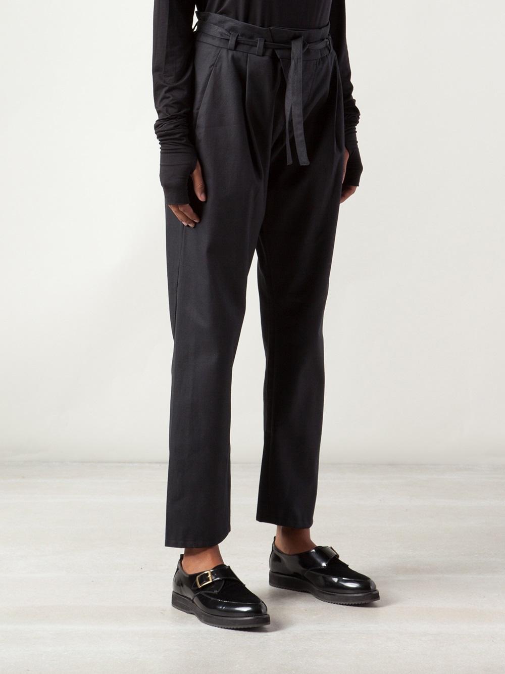 Lyst Umasan Low Crotch Trouser In Black