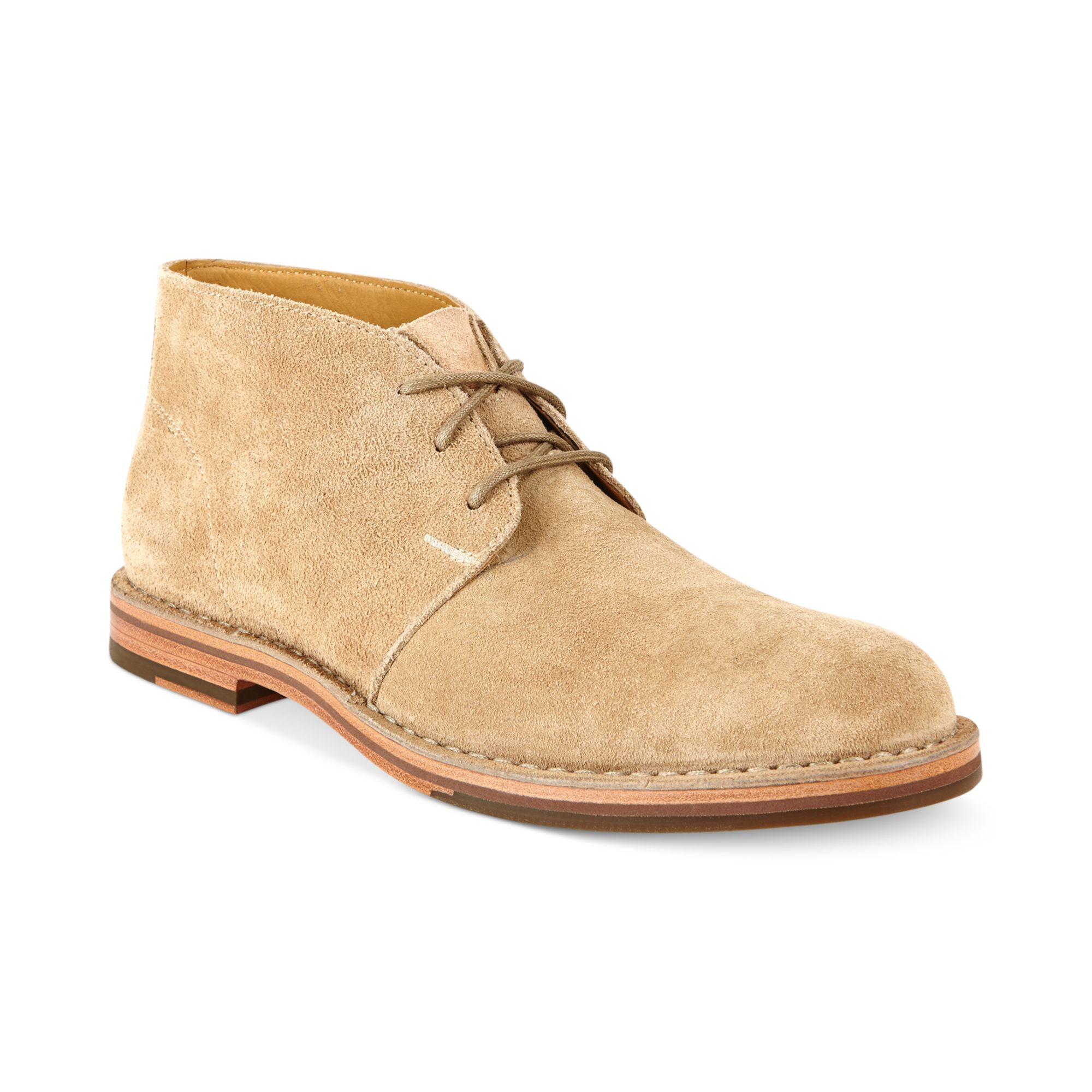 cole haan glenn chukka boots in beige for milkshake