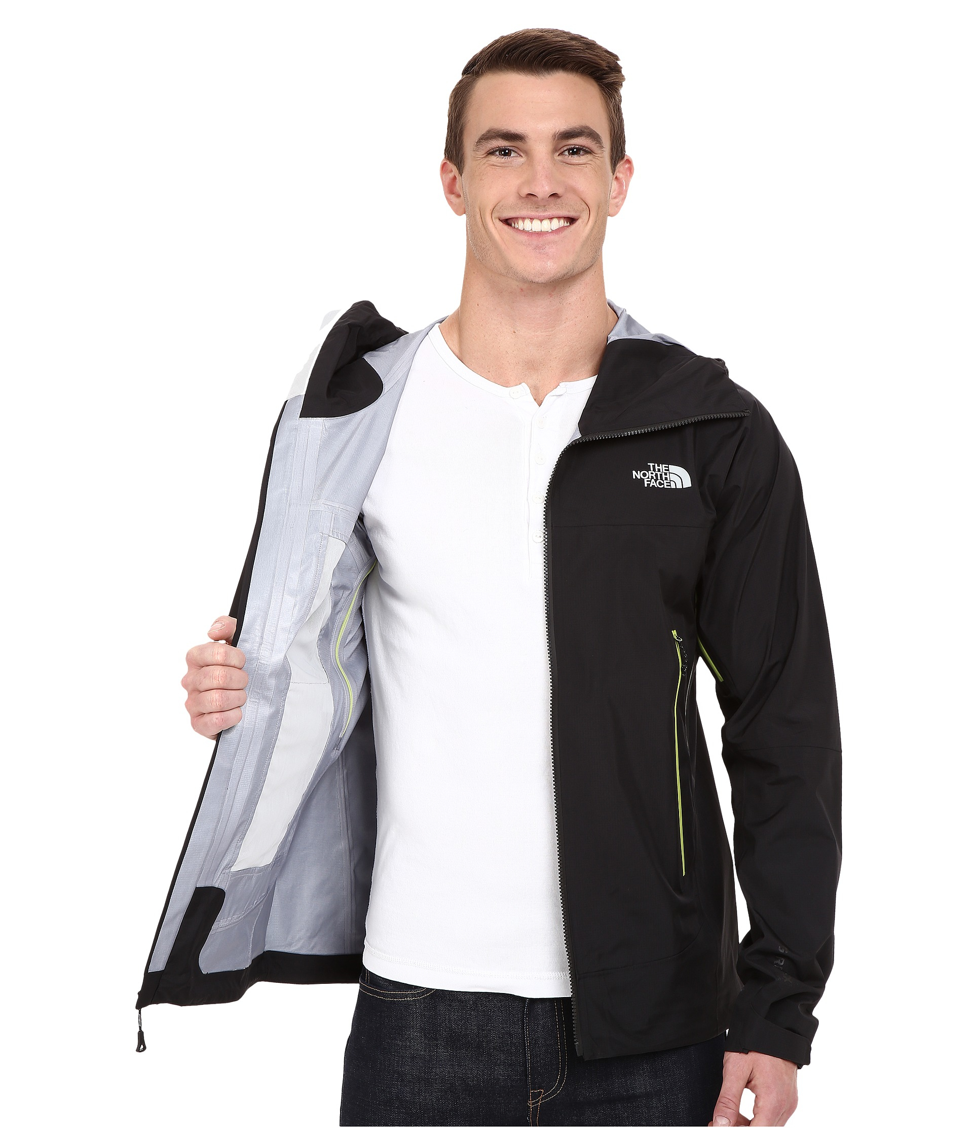 58d64198b83a ... The north face Oroshi Jacket in Black for Men Lyst ...