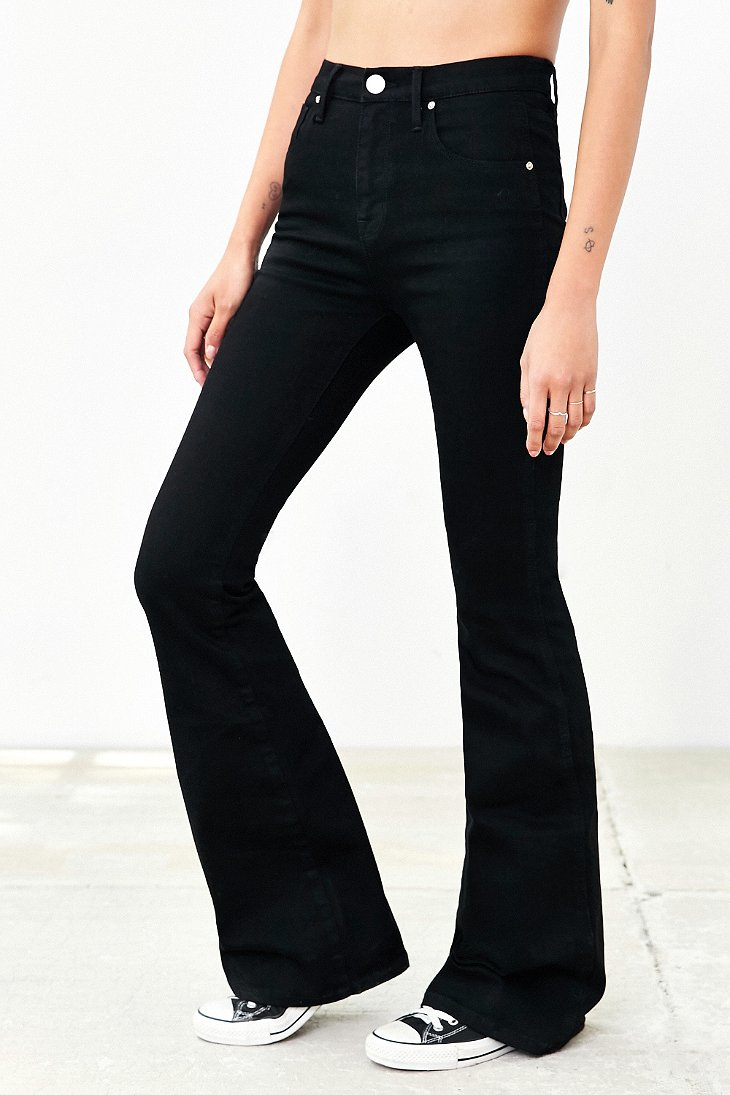 Bdg Morrison High-rise Flare Jean - Black in Black | Lyst