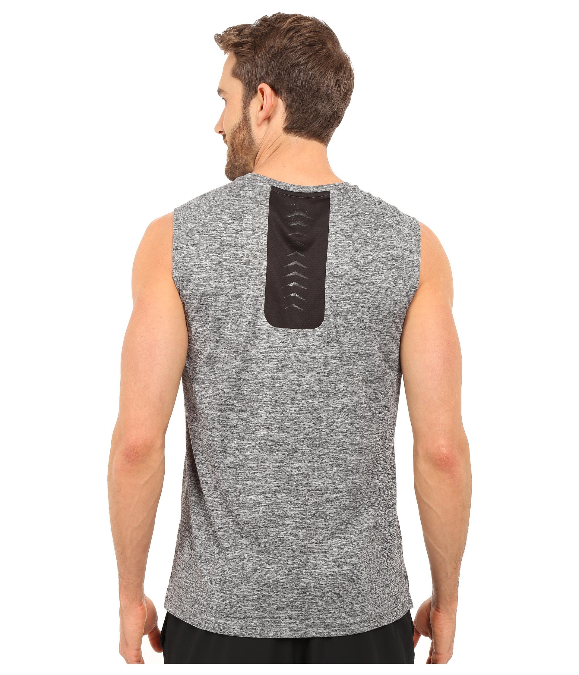 21fe4587254 PUMA Bonded Tech Sleeveless Tee in Gray for Men - Lyst