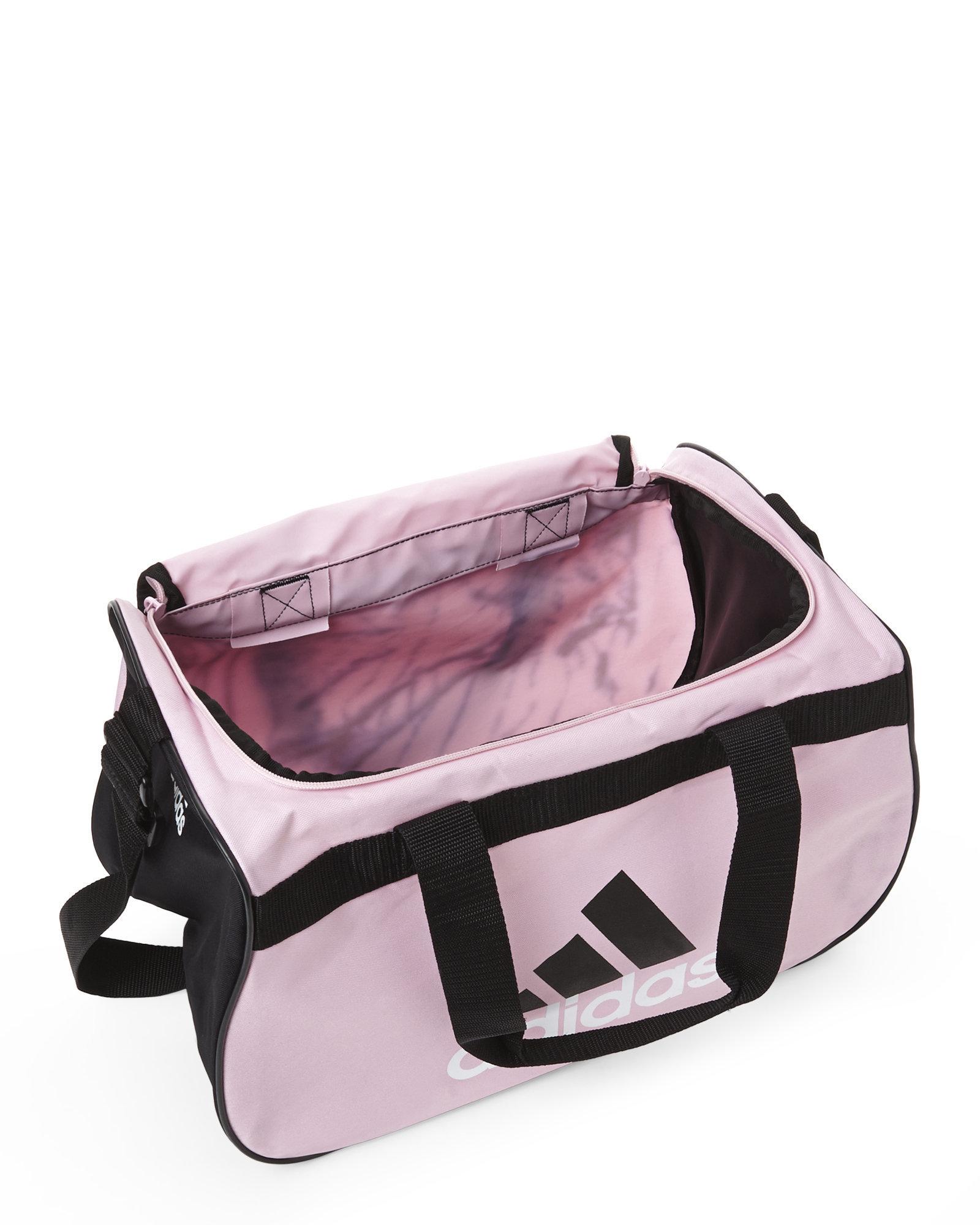 0d0bbb11f07e Lyst - adidas Originals Pink   Black Diablo Small Duffel in Pink