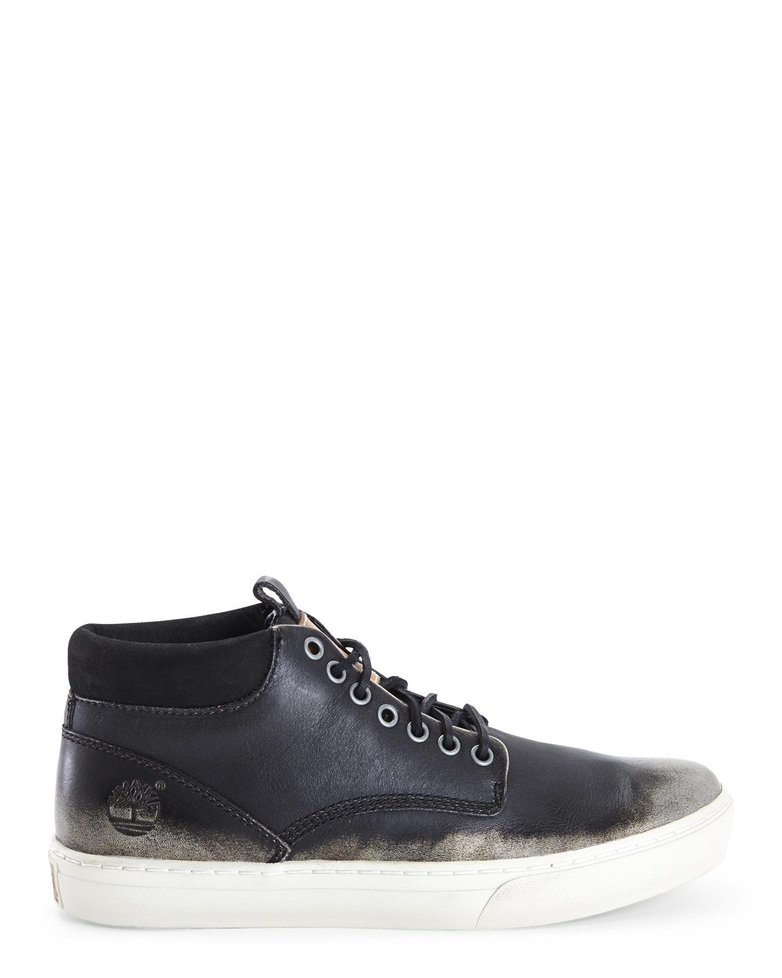 Men S Adventure Cupsole Chukka Shoes All Black