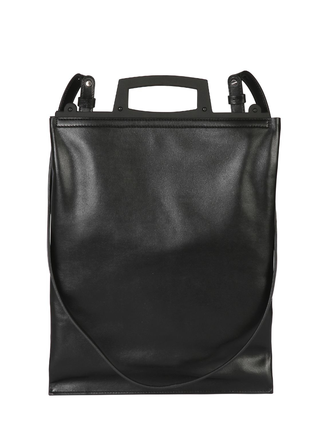 Givenchy Rave Shiny Leather Shopping Bag in Black | Lyst