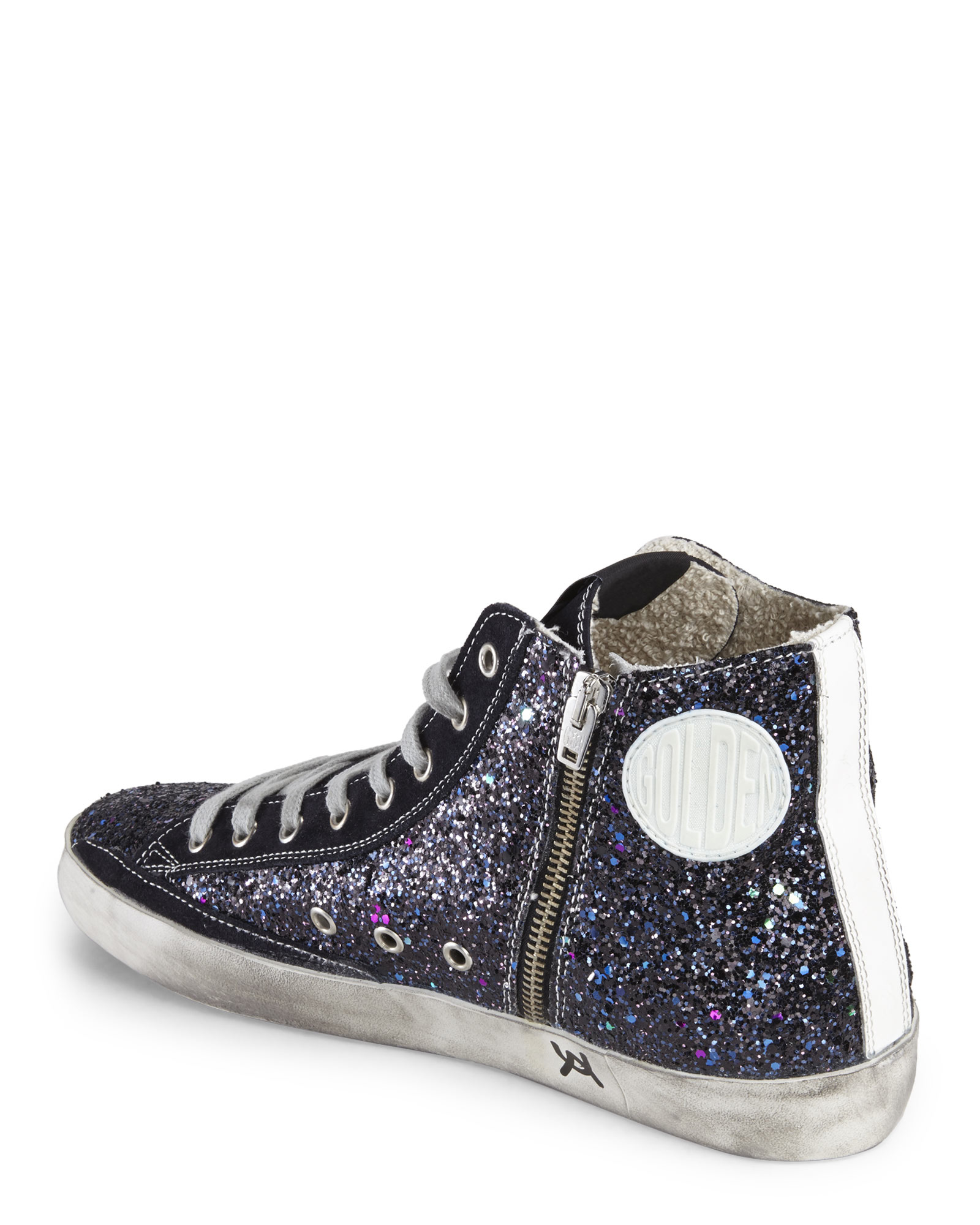 Francy high-top sneakers - Blue Golden Goose Genuine Cheap Online Outlet Excellent Huge Surprise Cheap Price Free Shipping Latest Collections xtVHswqhWn