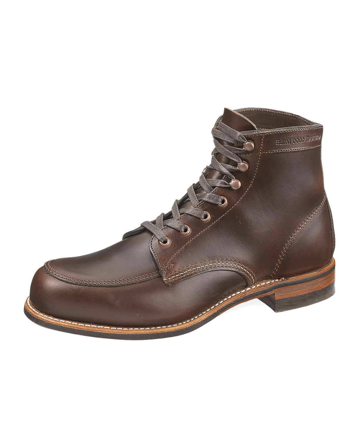 wolverine courtland 1000 mile boot in brown for lyst