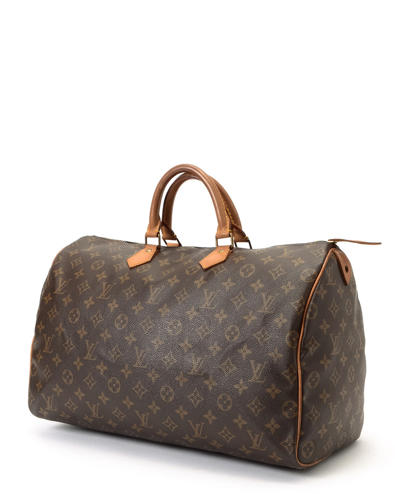 louis vuitton monogram speedy 40 handbag in brown lyst. Black Bedroom Furniture Sets. Home Design Ideas