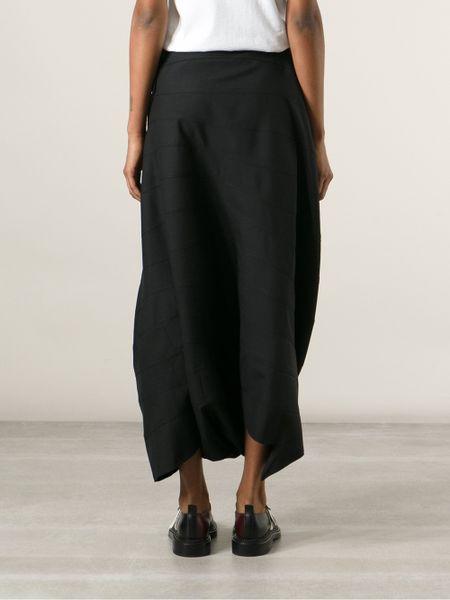 Junya Watanabe Sarouel Pants in Black