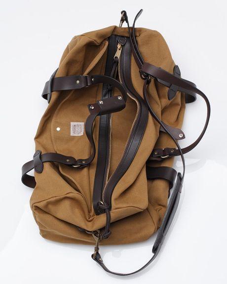 Filson Duffle Bag Medium In Brown For Men Tan Lyst