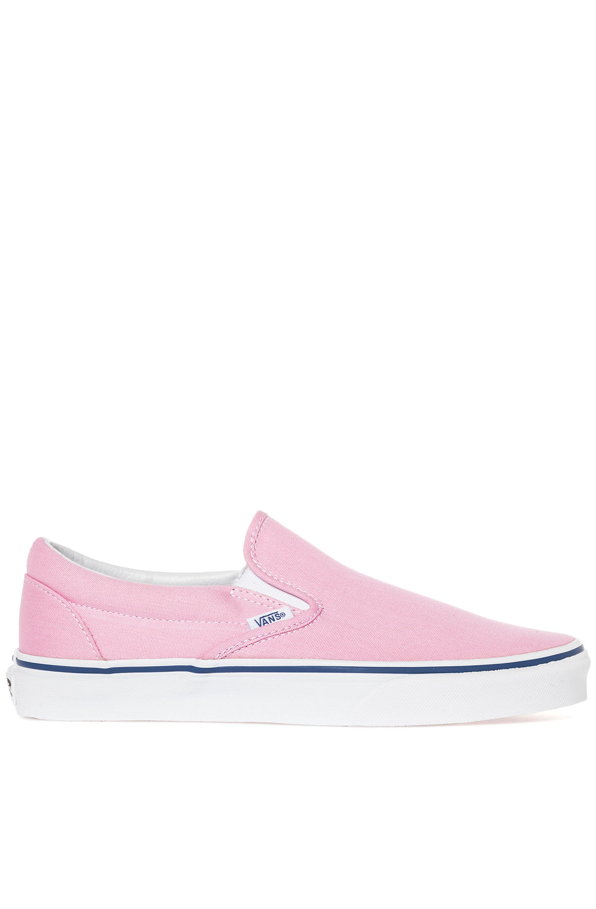 bd4e60ad1600 Lyst - Vans The Classic Slip-On Prism Pink   True White in Pink