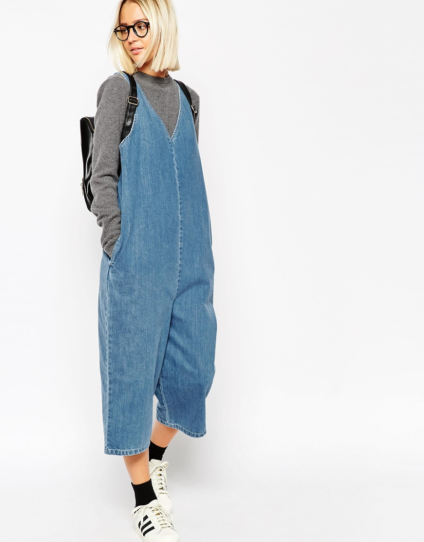 dea21859bd9f Denim jumpsuit asos