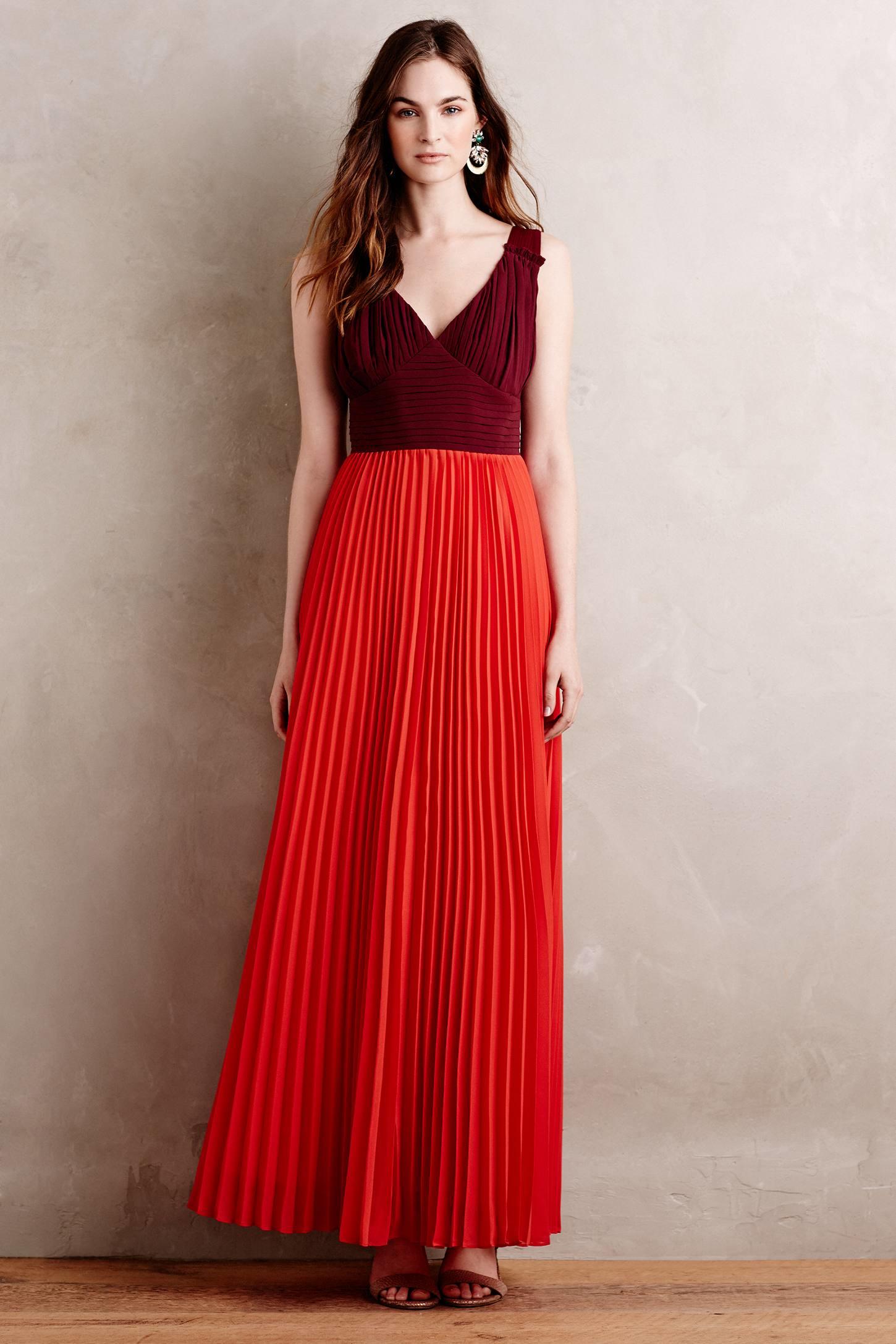 Moulinette soeurs Roja Maxi Dress in Red   Lyst
