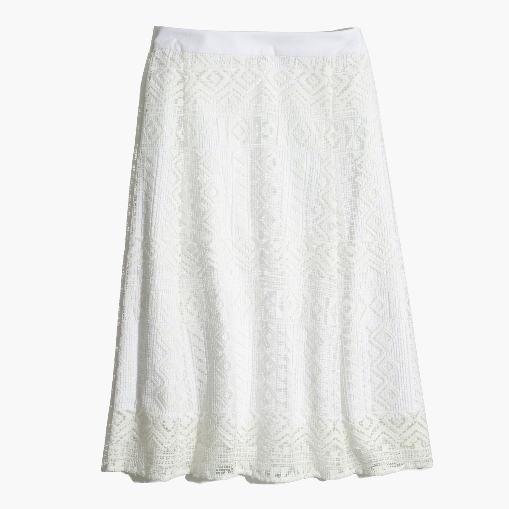 Eyelet Bedskirt Ruffle from Collections Etc