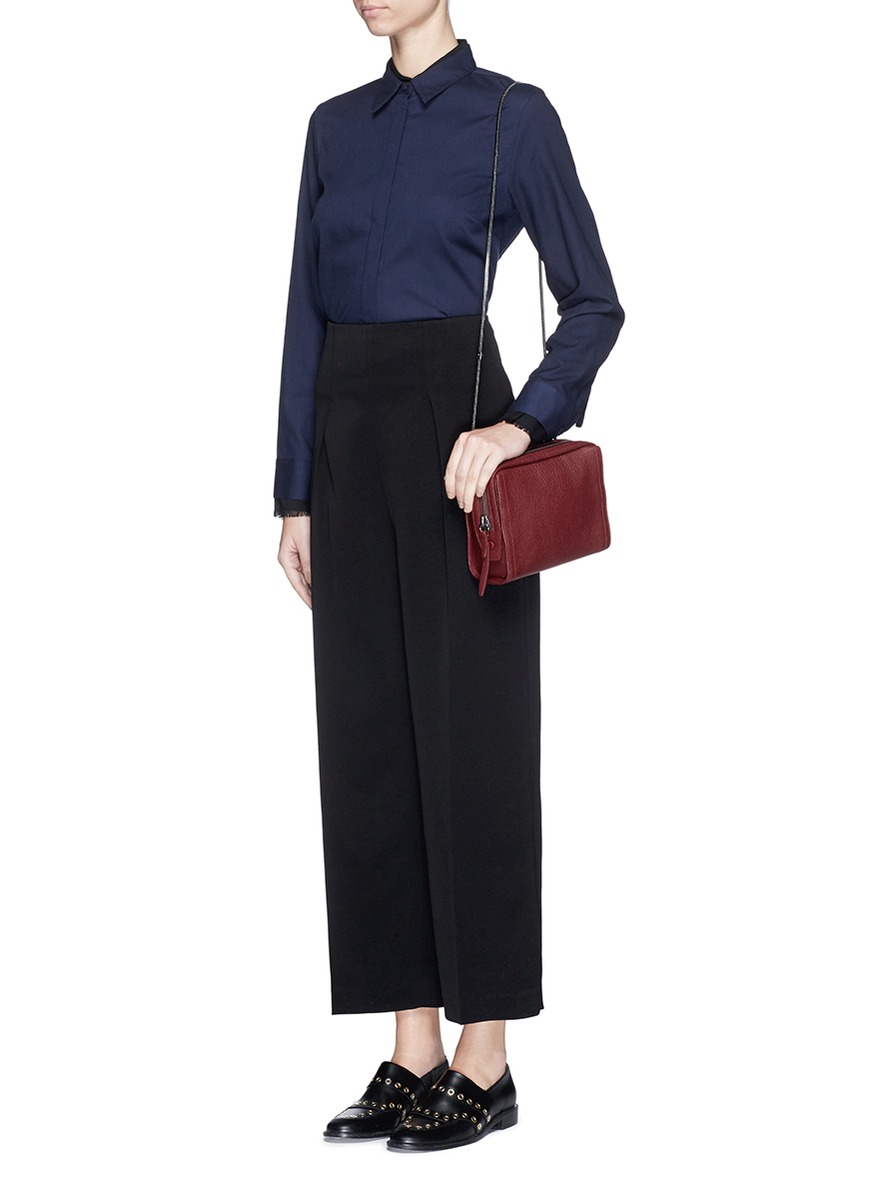 cropped belted trousers - Blue 3.1 Phillip Lim imz7bwzCAu