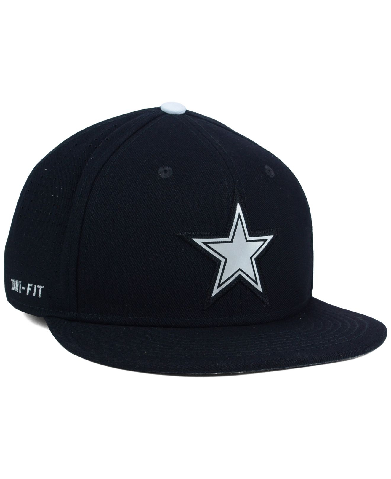 Lyst - Nike Dallas Cowboys True Vapor Fitted Cap in Black for Men f383a0081729