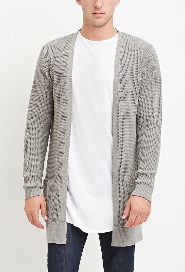 Forever 21 Waffle Knit Cardigan You've Been Added To The Waitlist ...