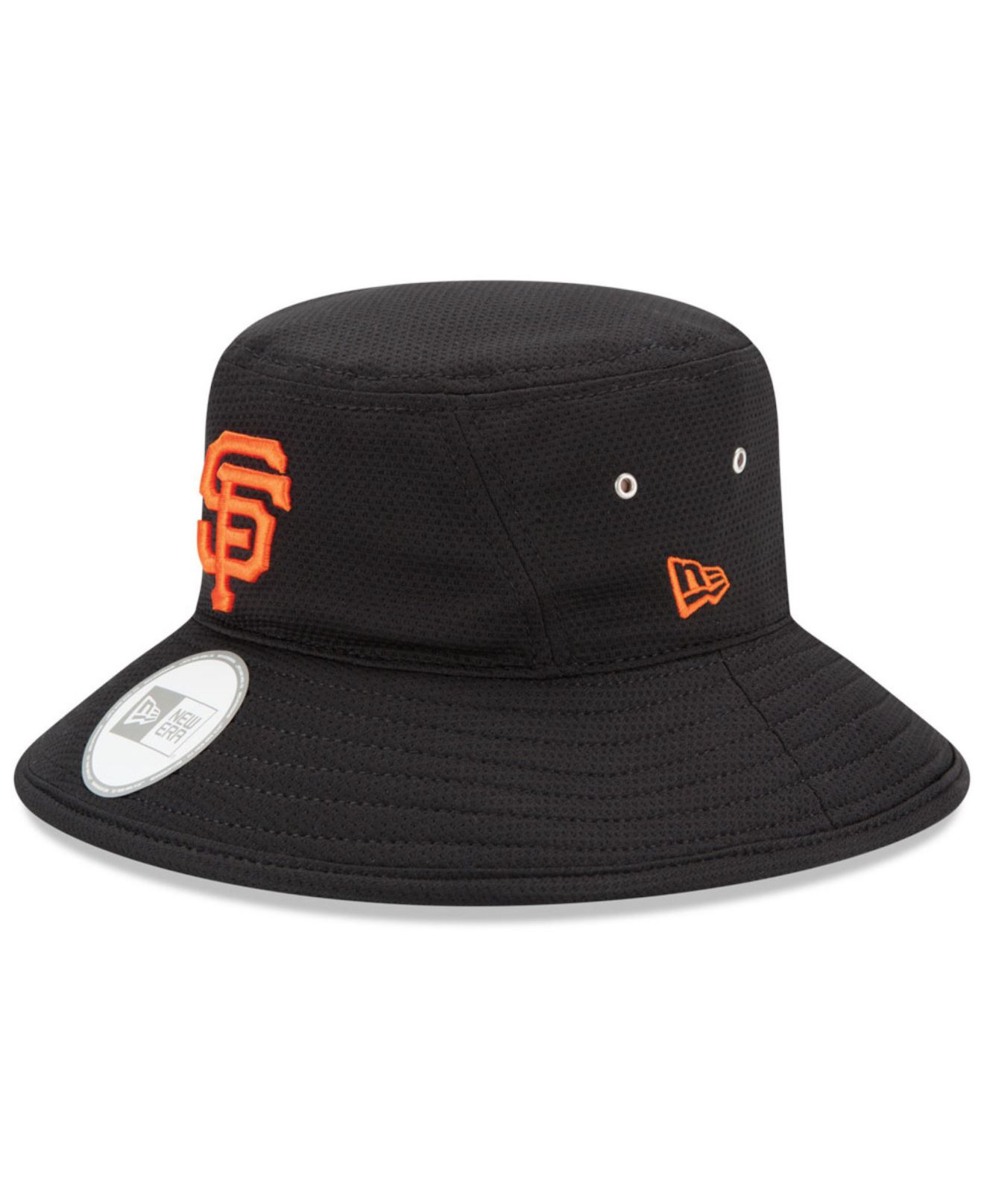 def9964aecd ... cheap lyst ktz san francisco giants redux bucket hat in black 29543  f2abe