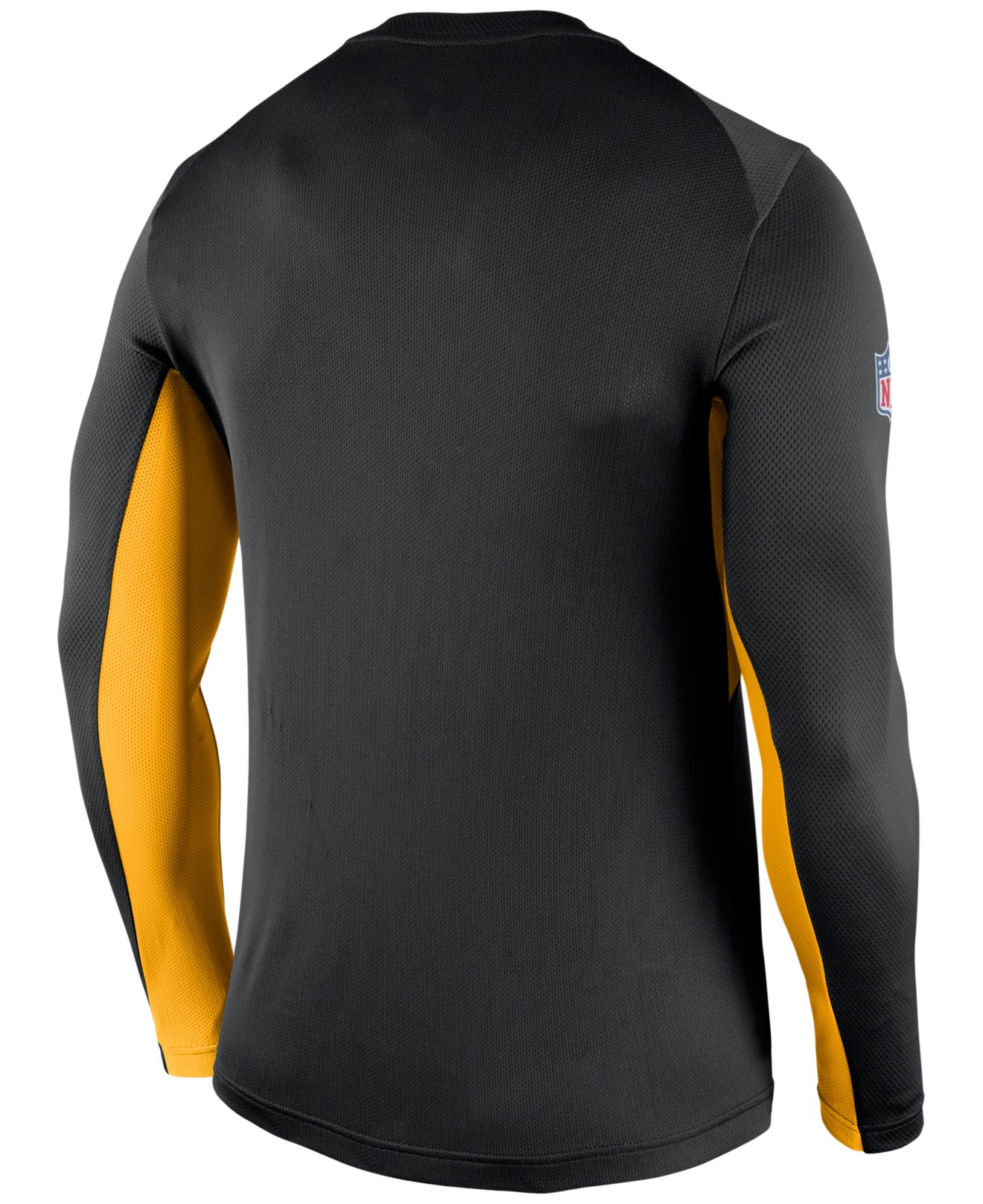 Lyst - Nike Men s Long-sleeve Pittsburgh Steelers Vapor T-shirt in ... 4af5a4e2d