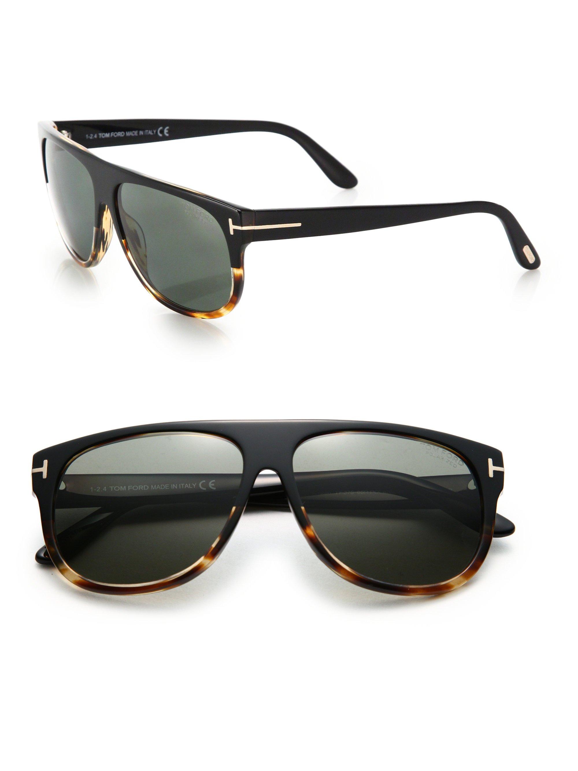 tom ford kristen 59mm aviator sunglasses in black lyst. Black Bedroom Furniture Sets. Home Design Ideas