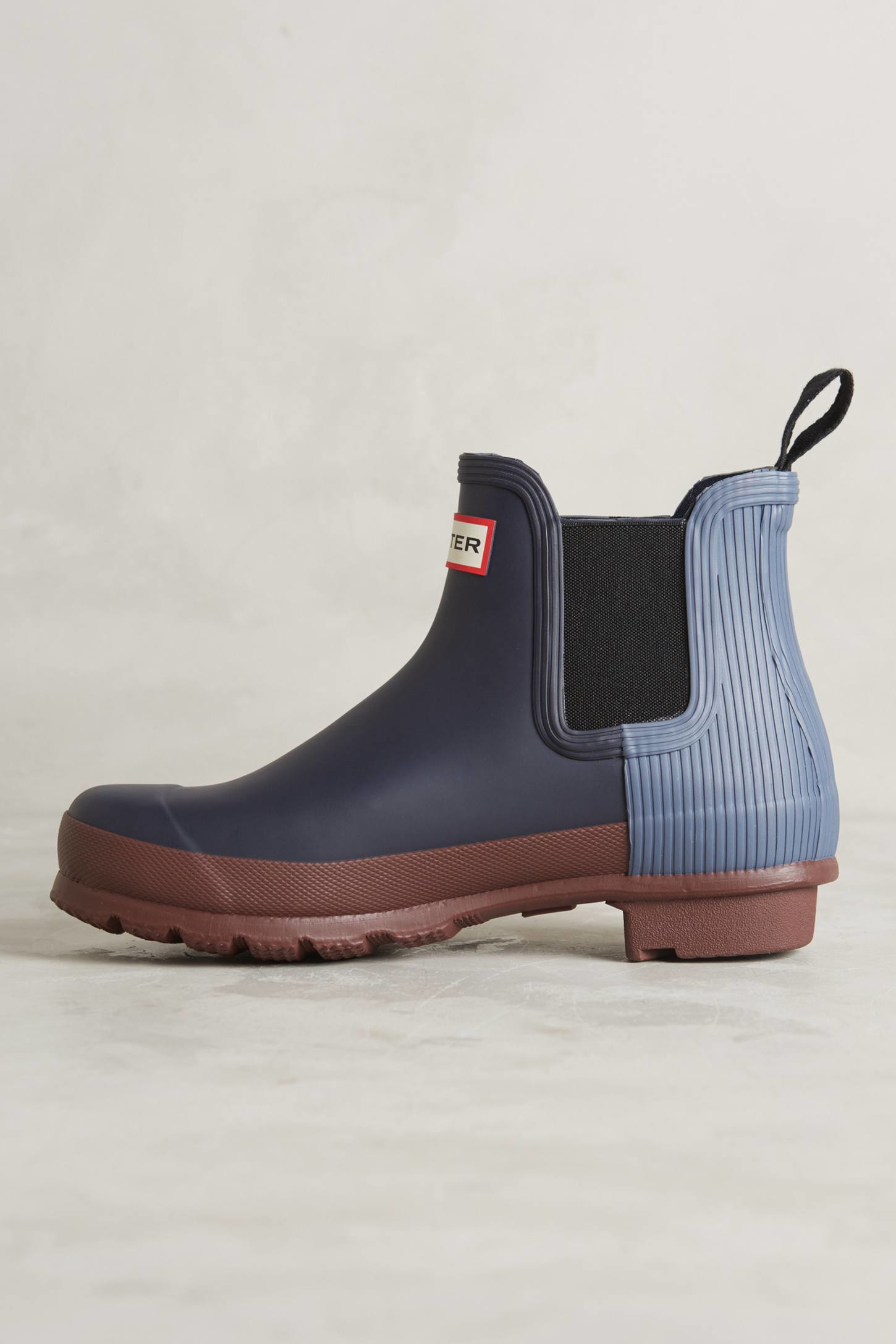 Lyst Hunter Chelsea Rain Boots In Blue