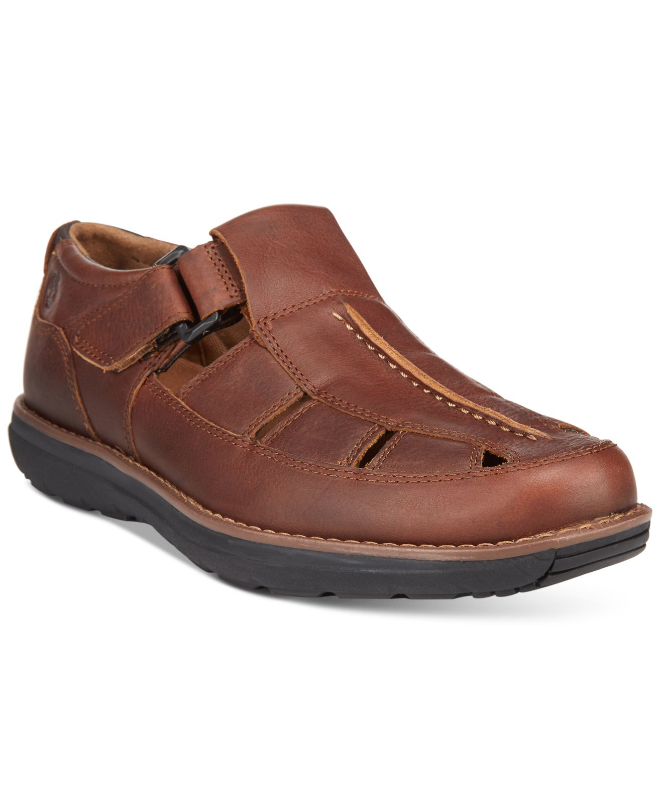 a56aad6098ef Lyst - Timberland Men s Barrett Fisherman Sandals in Brown for Men