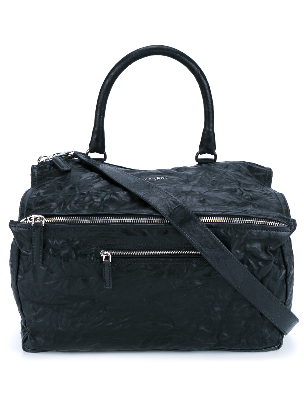 givenchy large leather pandora bag in black lyst