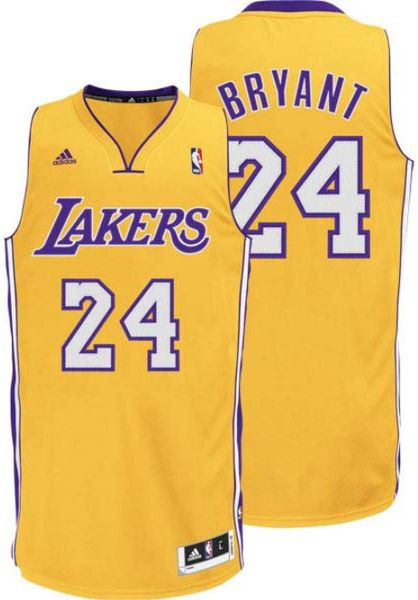 Adidas Toddlers Kobe Bryant Los Angeles Lakers Replica Jersey In Yellow For Men Gold Lyst