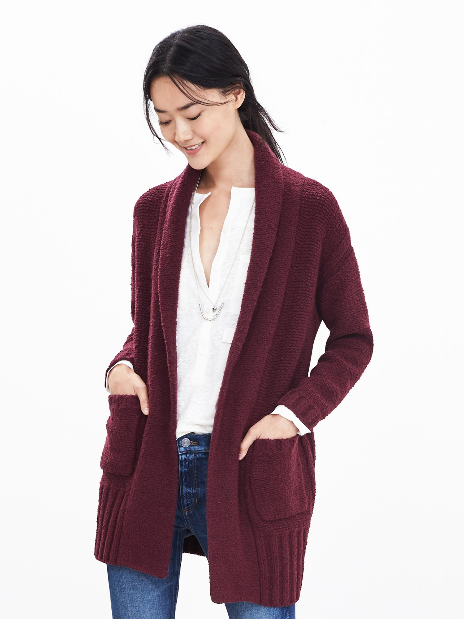 Lose yourself in luxury with versatile all-season sweaters and cardigans in soft cashmere, machine-washable Merino wool and silk-cotton blends. Petite sizes available.