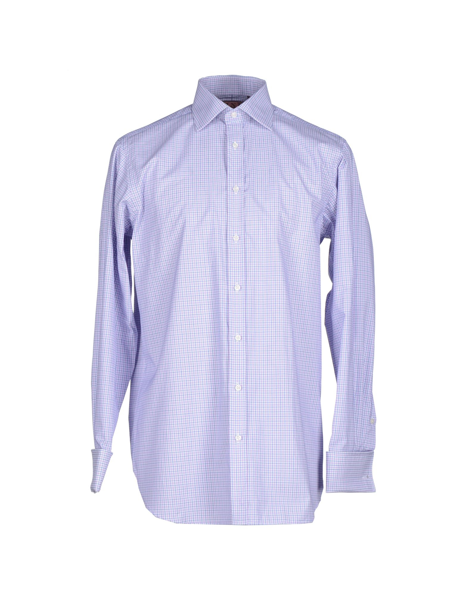 Lyst thomas pink shirt in purple for men for Mens pink shirts uk