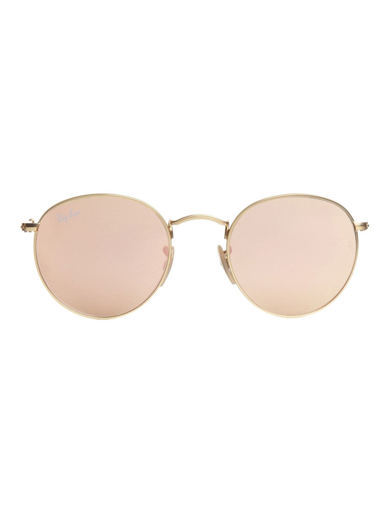 Ray ban mirrored sunglasses pink for Mirror sunglasses