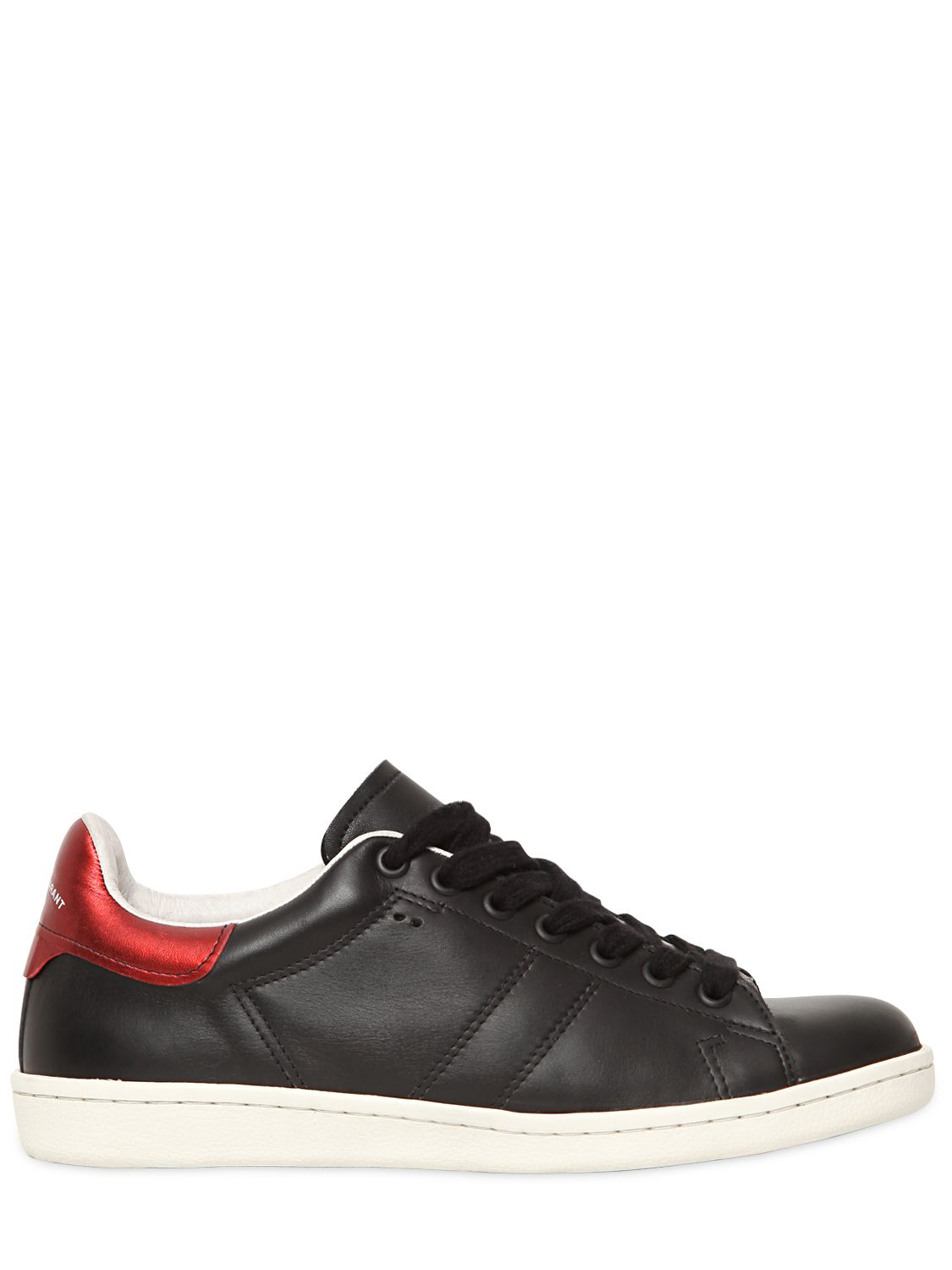 lyst isabel marant bart sneakers in black. Black Bedroom Furniture Sets. Home Design Ideas